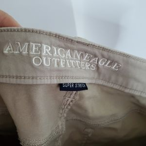 American Eagle Outfitters Pants & Jumpsuits - American Eagle Outfitters Khaki Super Stretch